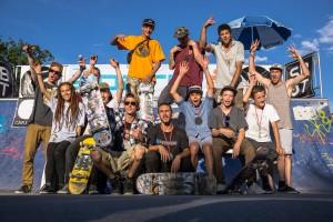Siegerfoto 1. Tourstopp in Lienz