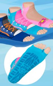 Rutschfeste Schwimmsocken von Sweakers