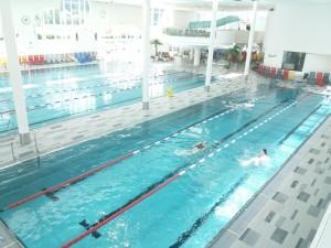 Reservierungen Schwimmbahnen & Gruppenkabinen